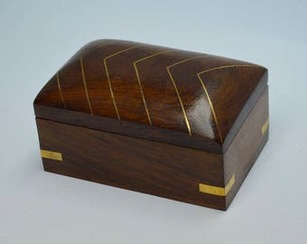 Wooden Ring box, Jewelry Box, Rings box wedding - Gifts for Her, Wedding gift