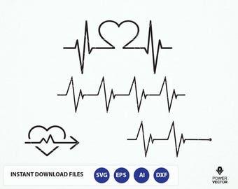 Heartbeat SVG. Heartbeat Dxf. Heartbeat Cricut. Heartbeat Love Svg. Heartbeat Line Svg. Heartbeat Svg. Heartbeat Studio. Heartbeat Cut File