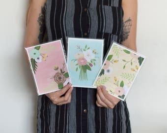 Mini Floral Prints