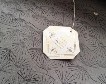 Japanese Kimono Fabric  (Pine leaves printed)_0001