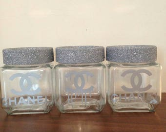 Chanel Inspired containers