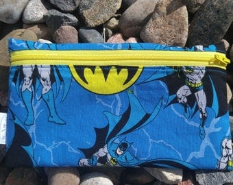 Batman reusable snack sandwich bag