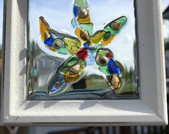 Sea Glass Art - Handmade Starfish