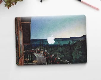 "Harald Sohlberg, ""Summer Night"". Macbook Pro 15 skin, Macbook Pro 13 skin, Macbook 12 skin. Macbook Pro skin. Macbook Air skin."