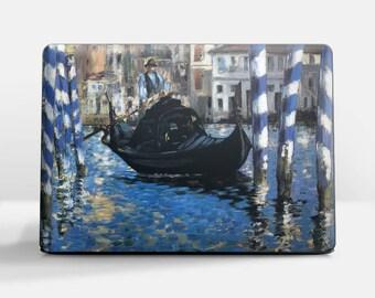 "Laptop skin (Custom size). Edouard Manet, ""The Blue Venice"". Laptop cover, HP, Lenovo, Dell, Sony, Asus, Samsung etc."