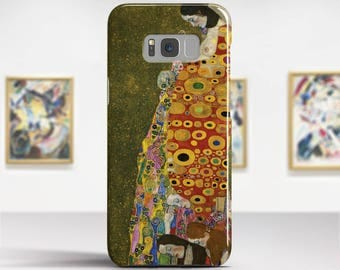 "Gustav Klimt, ""Hope"". Samsung Galaxy S8 Case LG V30 case Google Pixel Case Galaxy J7 2017 Case and more. Art phone cases."