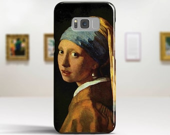 "Johannes Vermeer, ""Girl with a Pearl Earring"". Samsung Galaxy S6 Case LG G5 case Huawei P9 Case Galaxy A5 2017 Case and more."