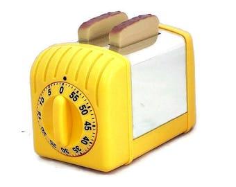 Steel kitchen timer toaster