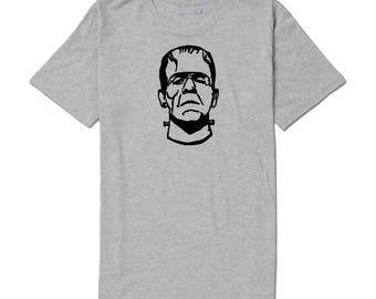 Frankenstein Monster T Shirt Clothes Many Sizes Colors Custom Horror Halloween Merch Massacre