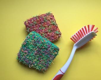 Kitchen scrubby sponges