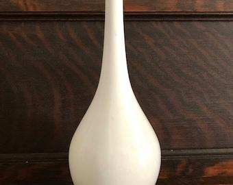 Vintage Mid-Century Modern White Vase