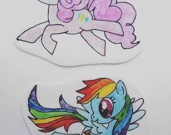 My Little Pony Cake Topper Set