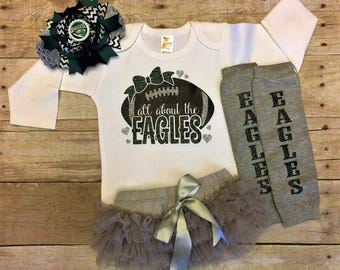 Philadelphia eagles, Philadelphia eagles baby gift, eagles bodysuit, infant girl eagles outfit