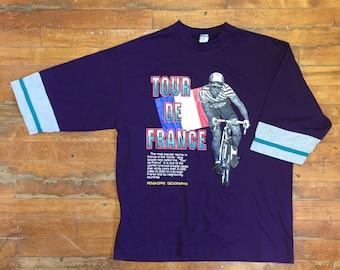 Vintage Tour De France T Shirt