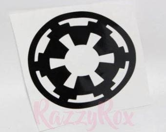Imperial Cog Decal