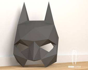 Batman Mask - Papercraft - Make your own