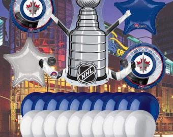 Winnipeg Jets 25 piece Balloon Kit