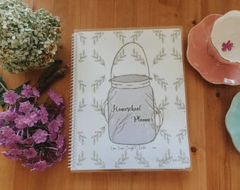 PDF version of the 2017 to 2018 Homeschool Planner - Charlotte Mason Inspired (Package Description Available Below)