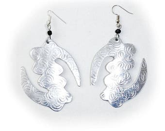 Gye Nyame Silver Earrings