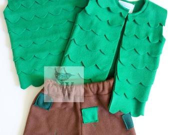 Branch Costume DIY Tutorial NB-ADULT