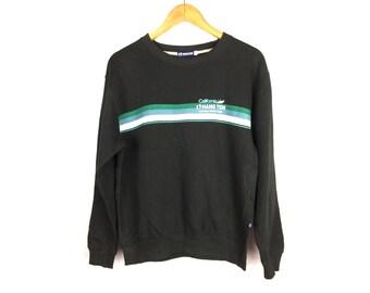 HANG TEN Long Sleeve Sweatshirt Medium Size Nice Design