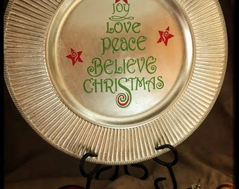 Christmas Decorative Plate