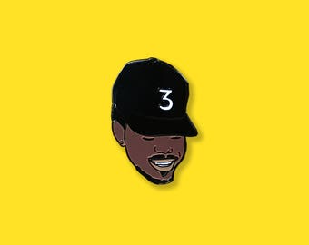 Chance the Rapper Lapel Pin