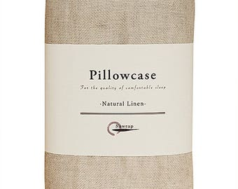 Nawrap Natural Linen Pillowcase