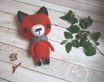 red fox,crochet toy,amigurumi fox,crochet foxy,kawaii fox,kitsune amigurumi,orange fox,chibi amigurumi fox