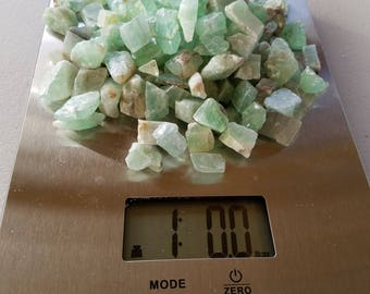 The Lifting, Bulk Stones: Lot 2 - 1 Pound of Green Calcite
