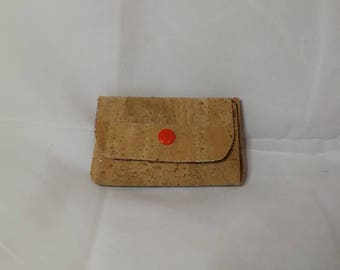 Wallet in Cork, several colors