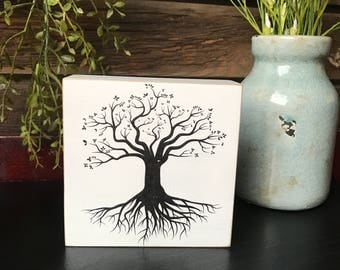 Tree Of Life Beautiful And Simple Our Chunky Freestanding Quote Block Signs  Make