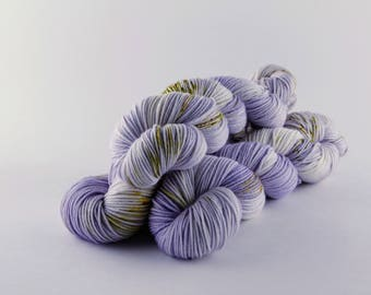 "Hand Dyed Yarn ""Ametrine"" Colorway"