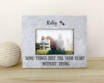 Pet Memorial Frame. Pet Loss Frame. Pet loss gift. Cat loss frame. Pet memorial gift. Cat sympathy gift