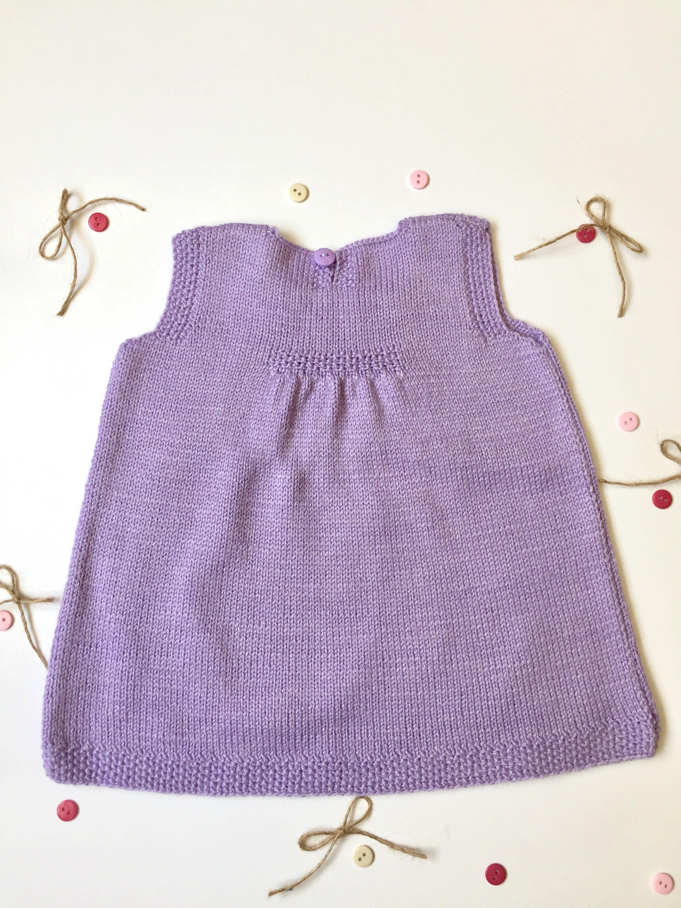 Knitted tunic wool knit baby knitted tunic baby wool dress knitted