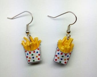 Potato Chips Earrings Accessories Earrings Minifood Food Jewelry