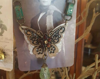 A butterfly in your garden. One of a kind.