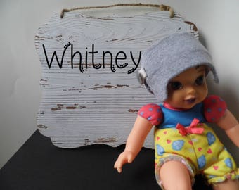 Whitney | Helmet Doll | Baby Helmet | Sibling Toy | Toy Like Me | Special Friend | Baby Doll | Removable Helmet