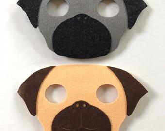 SET OF 2 Puppy Dog Pals Party Masks,Puppy Dog Pals Party,Puppy Dog Pals Party Favors,Puppy Dog Pals Birthday, Puppy Dog Pals Banner,Pug Mask