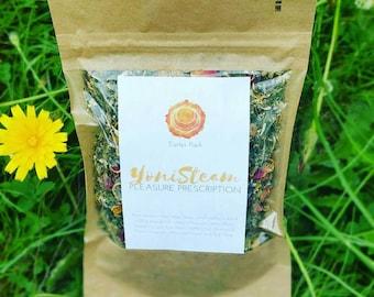 The Starter Taster Pack | Organic Vaginal Yoni Steam Herbs | Womb Wisdom | Divine Feminine Ritual | International Shipping