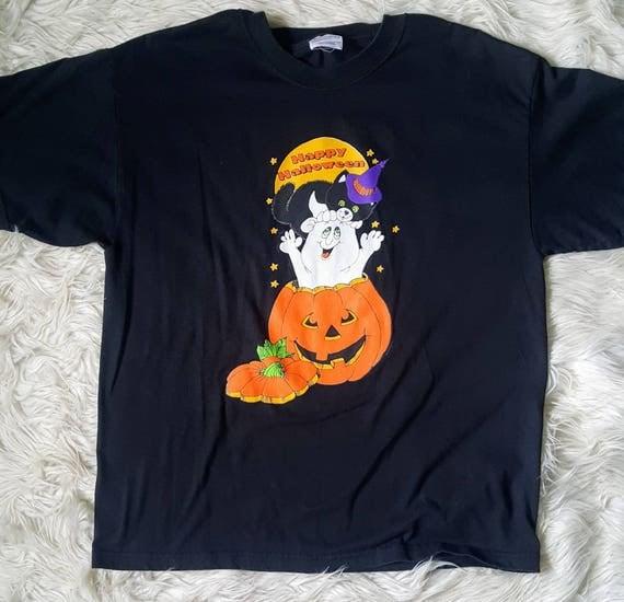 Vintage 90s Halloween t-shirt size large unisex