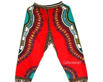 Dashiki Pants Red