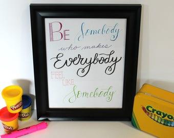 SALE, Teacher, School Inspirational Wall Art