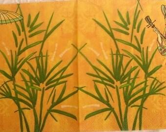 Paper towel geishas