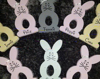 Personalised Easter Rabbit - Easter Egg holder