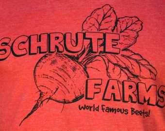 Schrute Farms Tee! Dwight's Beets!