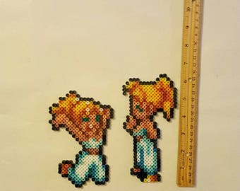 Marle Chrono Trigger Perler Beadsprite! Choice of 2!