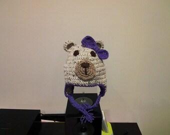 Little crochet bear Hat