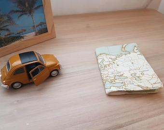 cover Passport travel world globe map