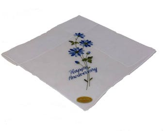 Anniversary Hankies (Floral) 3 Pack